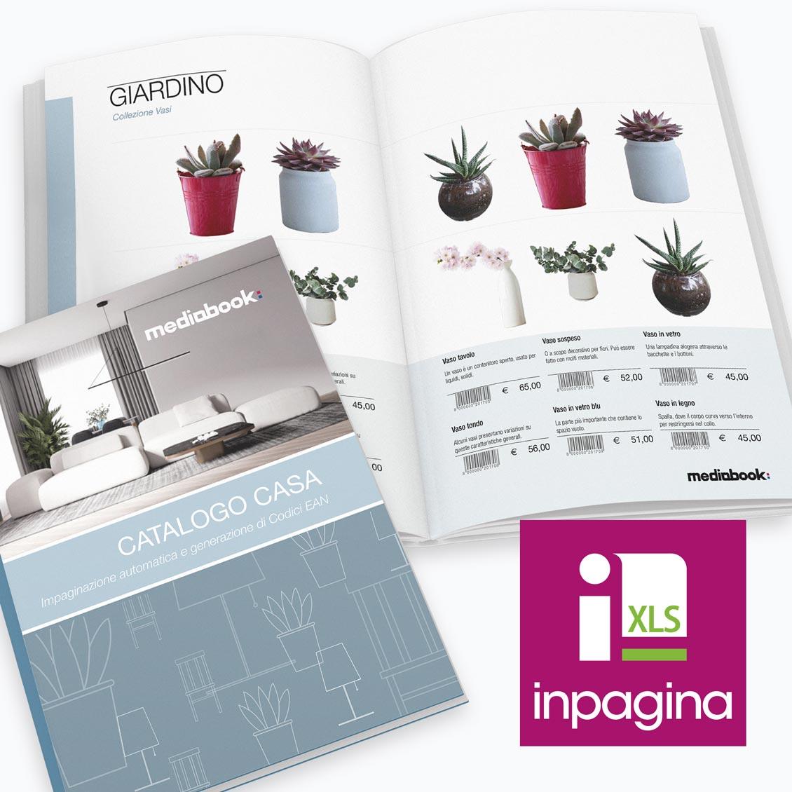 Catalogo impaginato automaticamente con InPagina XLS e InDesign