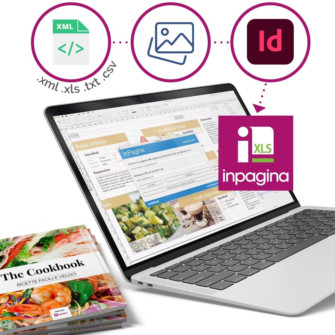 InPagina - impaginazione automatica con InDesign e dati XML